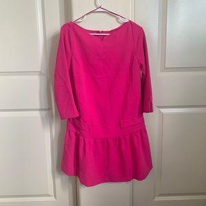Size small Victoria Beckham pink dress
